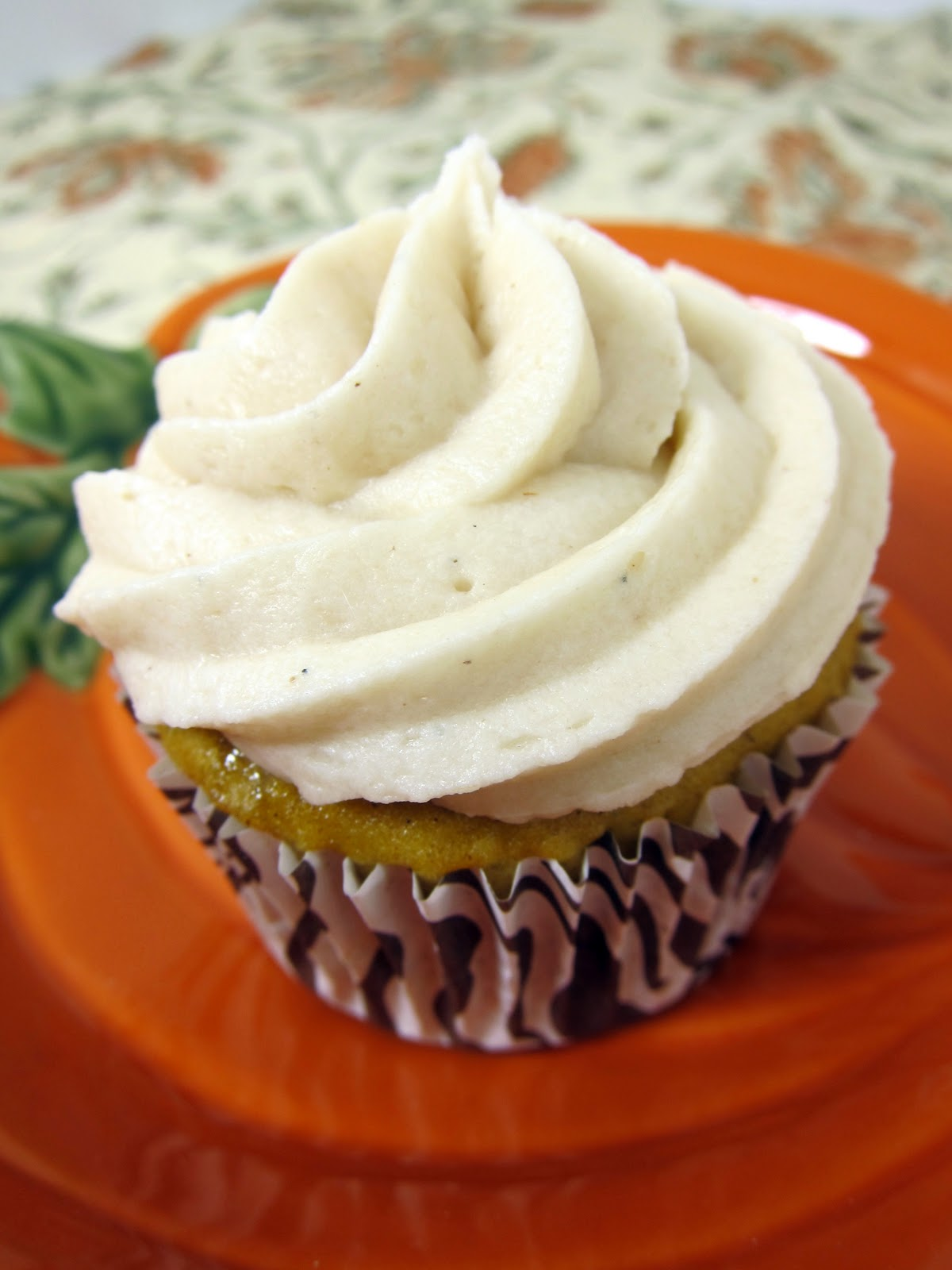 Pumpkin Cupcakes White Cake Mix