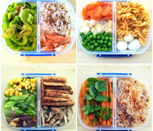 Thực đơn ăn kiêng giảm cân chỉ với 800 calo mỗi ngày