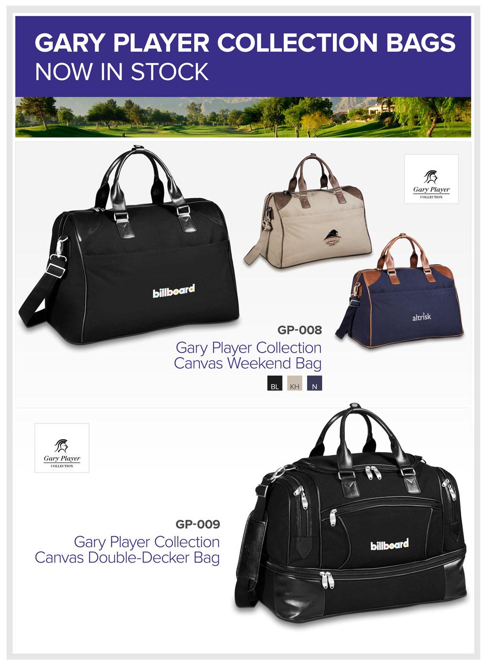 Gary Player Bag Collection