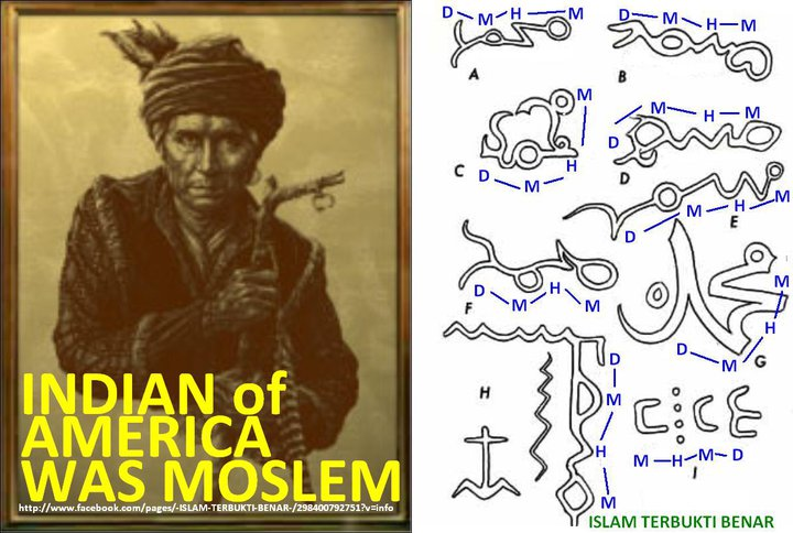 cherokee muslim Was the cherokee syllabary influenced by arabic letters due to an early islamic influence upon the cherokee people let's see, inshaa allaah.