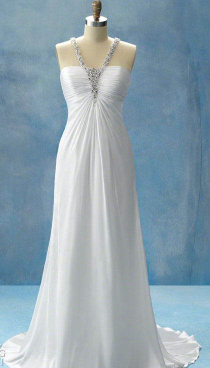 Simple Wedding Dress Accessories : Simple color wedding dresses overlay