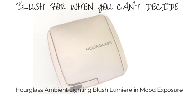 Hourglass Ambieng Lighting Blush Lumiere Mood Exposure Review Swatch NC20 Asian Skin