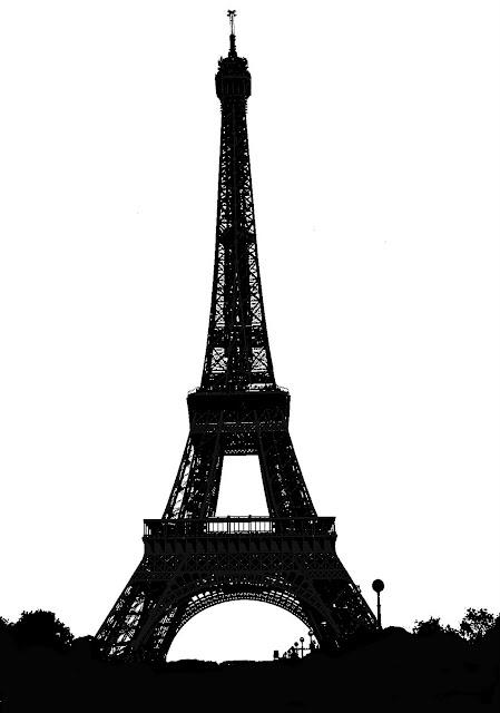 Eiffel silhouette