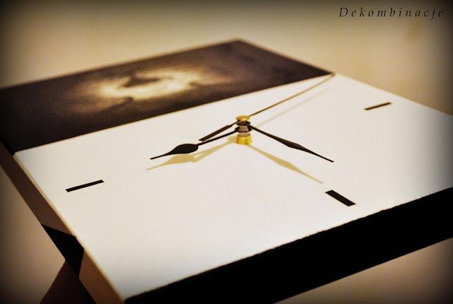 zegar duży