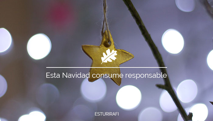 Esta Navidad consume responsable