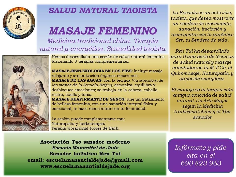 MASAJE FEMENINO
