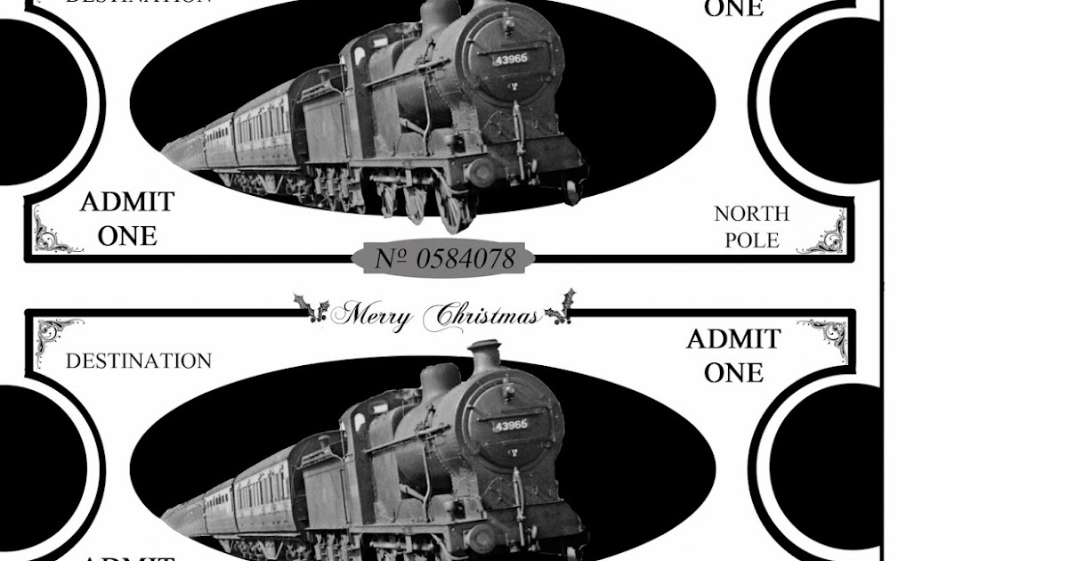 Mommy will play polar express tickets printables maxwellsz