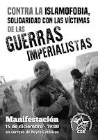 SOLIDARIDAD CON LAS VÍCTIMAS DE LAS GUERRAS IMPERIALISTAS