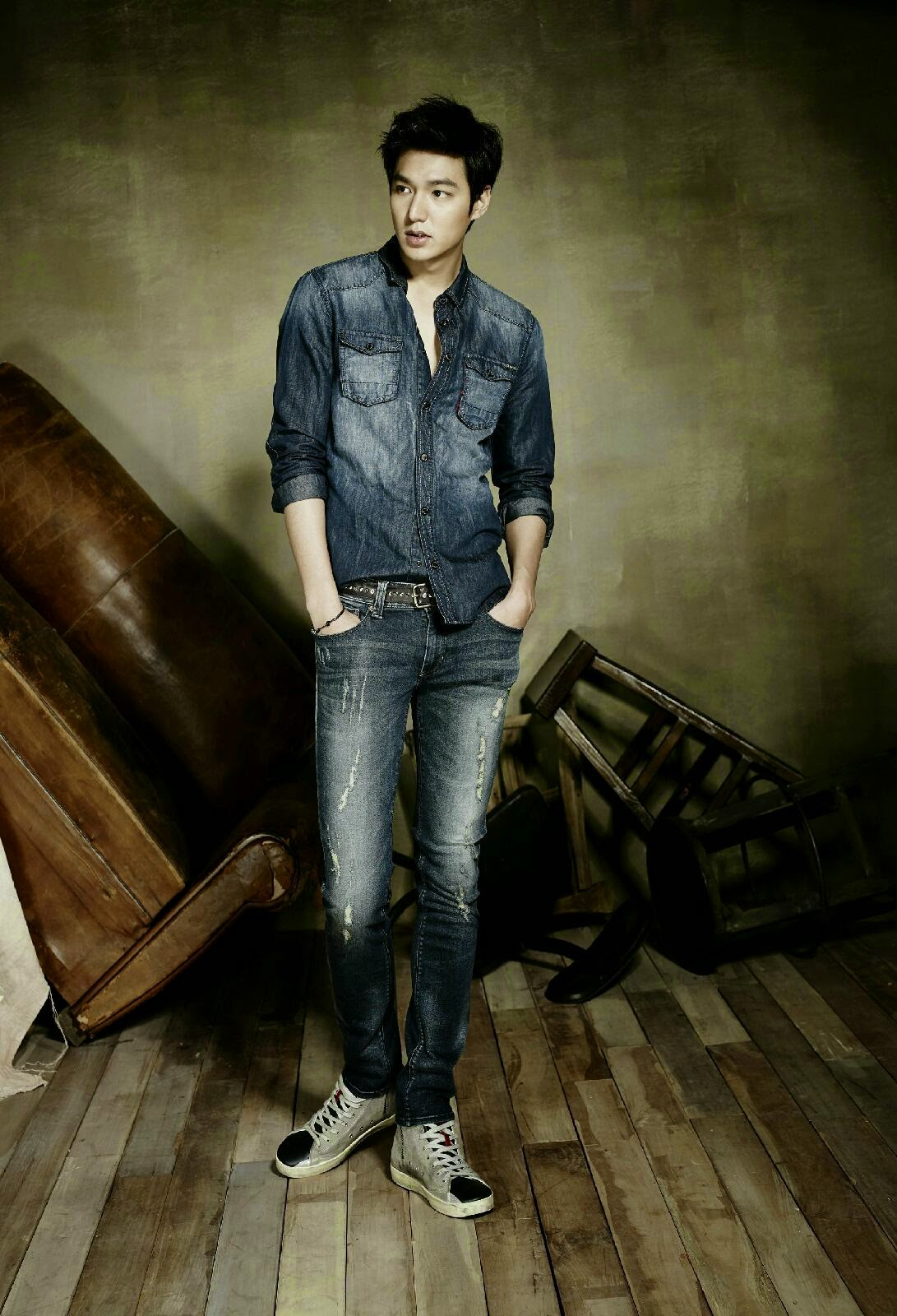 the imaginary world of monika lee min ho for quotguess jeans