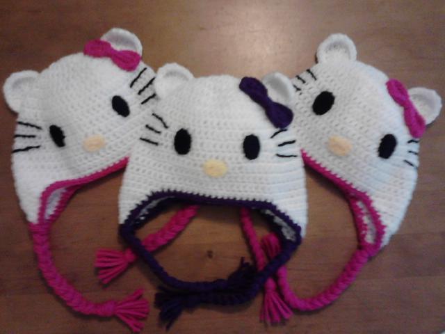 Tollie Tols Tale Crochet Hello Kitty Hats And Hello Kitty Purse