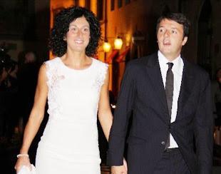 Il matrimonio del segretario Pd Matteo Renzi con Agnese Landini
