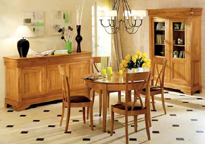 French Wood Furniture Design Monaco Dining
