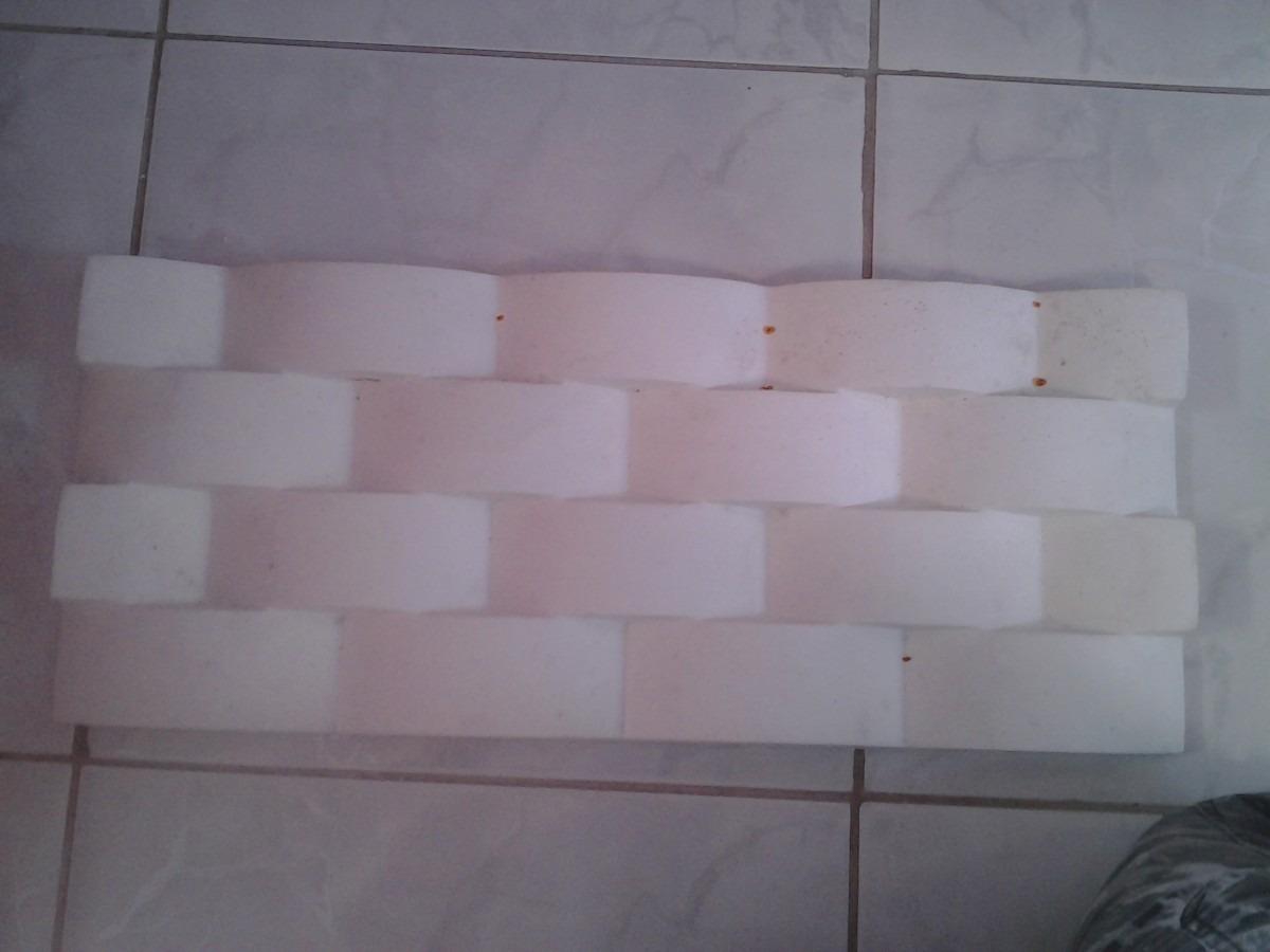 Formas silicone para revestimentos de gesso - Placas para paredes ...