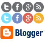 blogger sosyal paylaşım