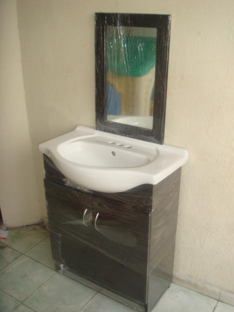Ideal muebles para su hogar gabinetes espejos y - Altura mueble bano ...