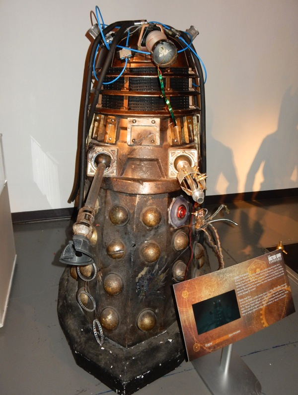 Into the Dalek prop Doctor Who
