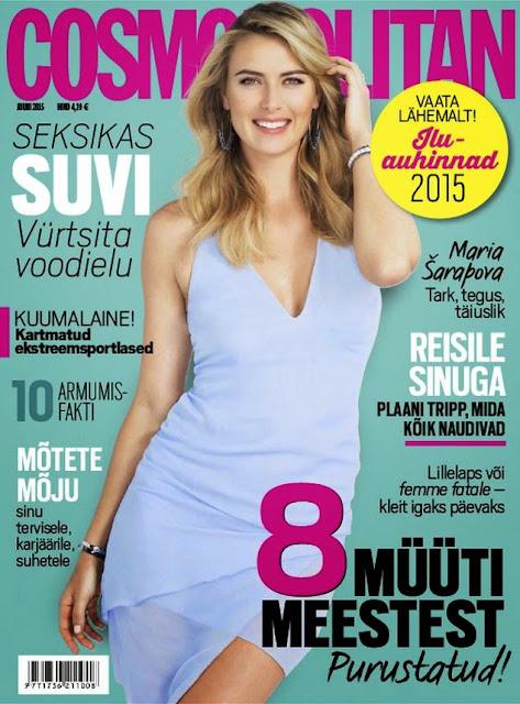 Tennis @ Maria Sharapova - Cosmopolitan Estonia, June 2015