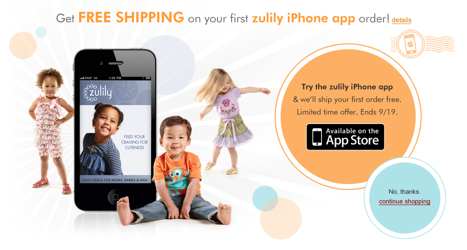 Zulily Coupon Codes. Zulily offers daily deals of different products like clothing, accessories, toys, home, etc. Check out Zulily for great discount and save even more with Zulily coupons, promo codes & sales.