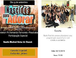 Culto dos Jovens -  23/09- Domingo