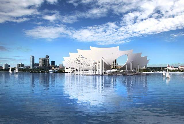 03-St-Petersburg-Pier por Michael-Maltzan-Architecture
