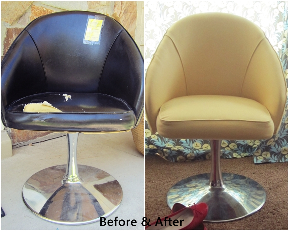 How To Recover A Tulip Chair