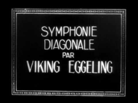 Symphonie Diagonale (1924) Viking Eggeling