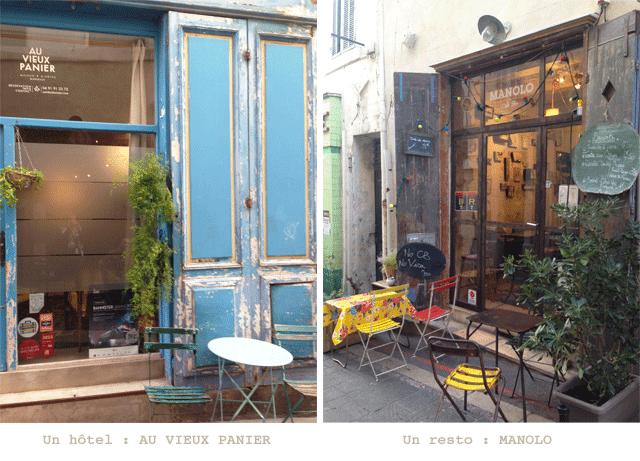 Quartier le Panier Hotel et resto Marseille ©lovmint