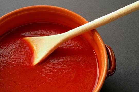 ... معجون الطماطم ، صوص الطماطم ، Tomato sauce