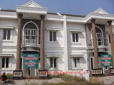 Rumah 2 lantai di kontrak/jual Mandiri Residence