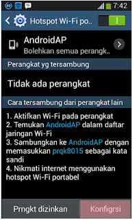 Cara Share Koneksi Internet via Wi-Fi Android