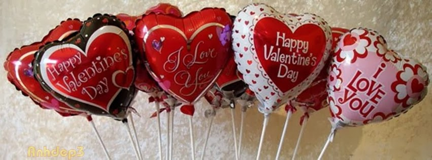 Ảnh bìa Facebook cho ngày lễ tình yêu Valentine - Cover FB