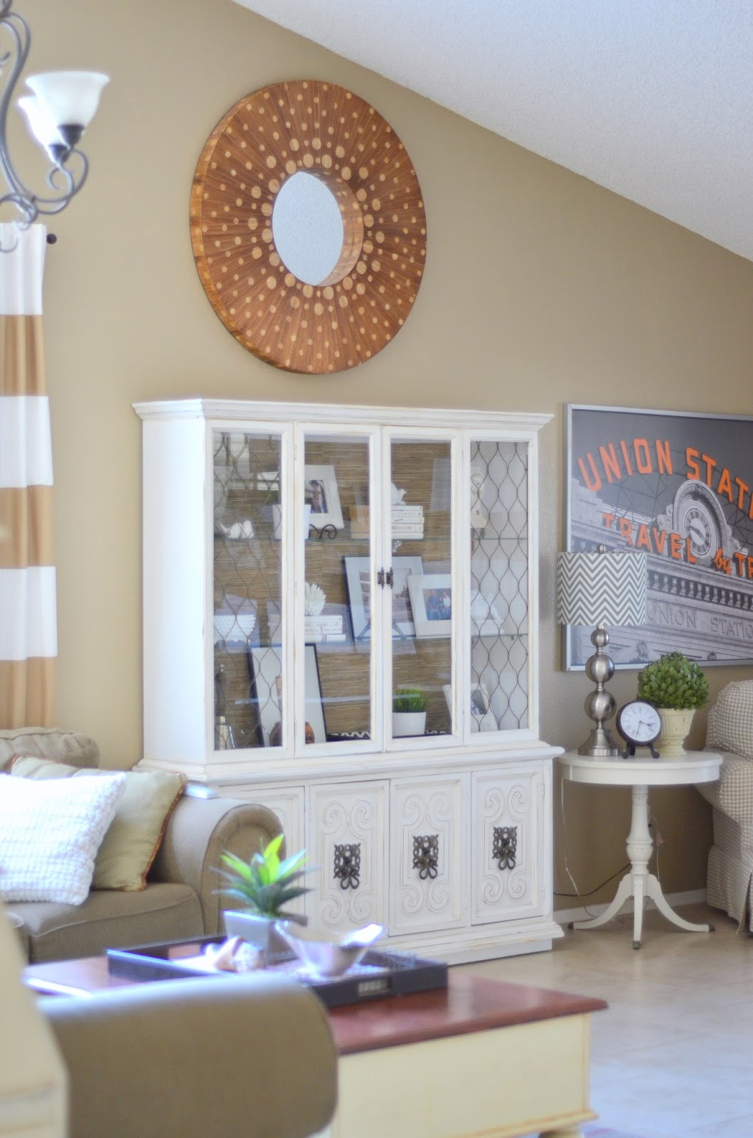 All you need is love and paint day 27 living room hutch - What do you need in a living room ...
