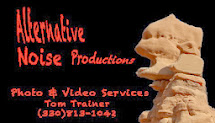 All my photo and video work is done by Alternative Noise Productions