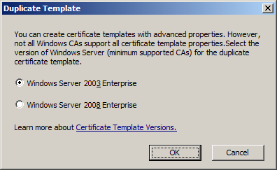 Katalykt preparing a microsoft ca ssl certificate template for alright the template just has to be tuned by now yadclub Gallery