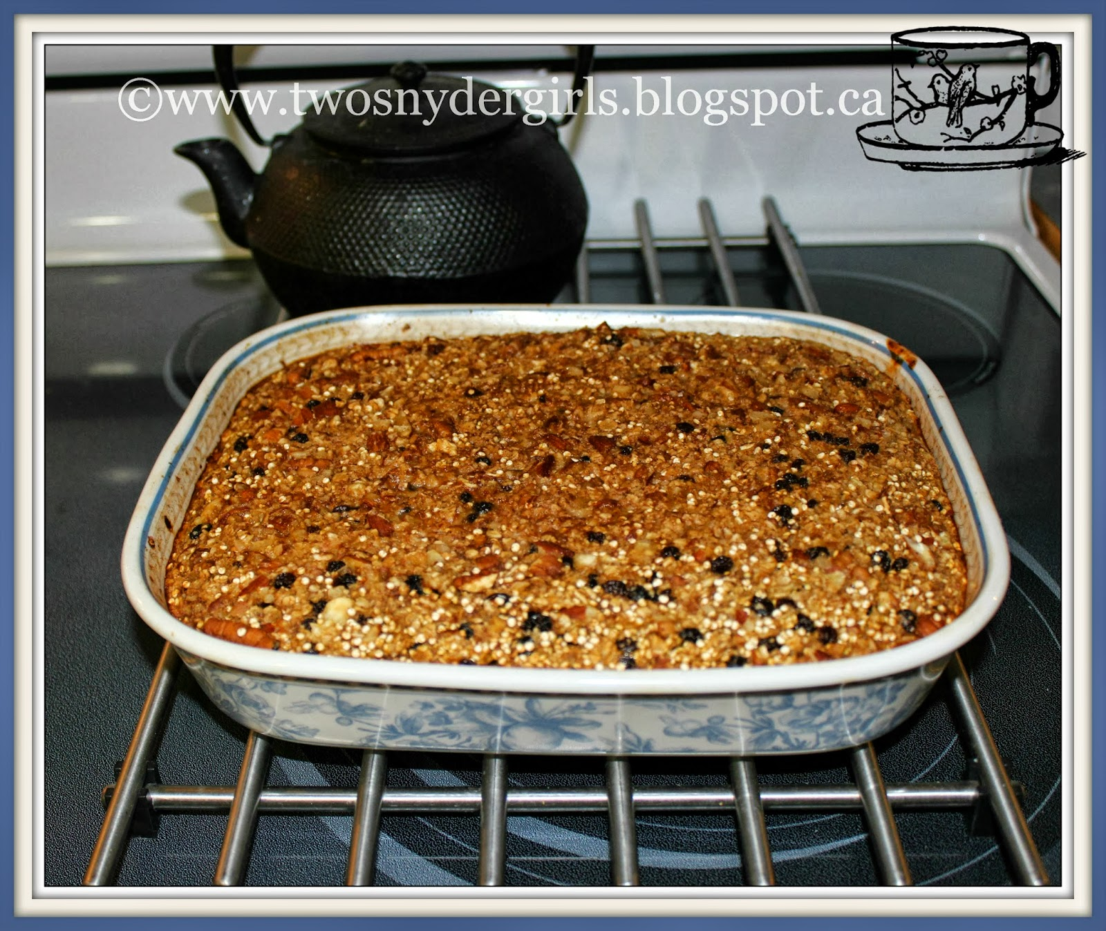 Gluten Free Baked Oatmeal and Quinoa