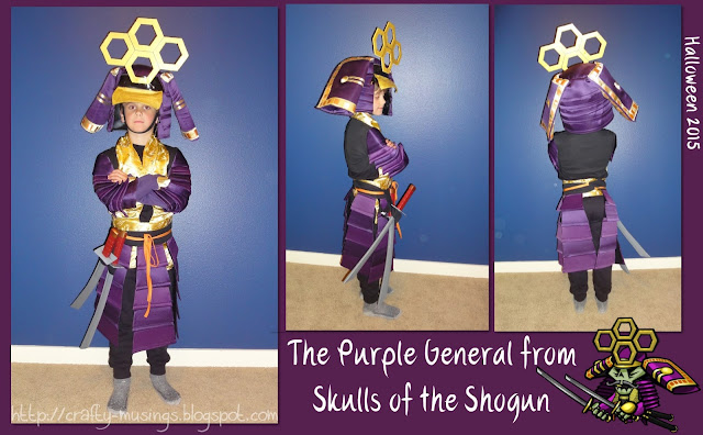 Purple Shogun collage