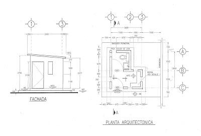 Dibujo de proyectos ejecutivos en la industria de la for Ejes arquitectonicos