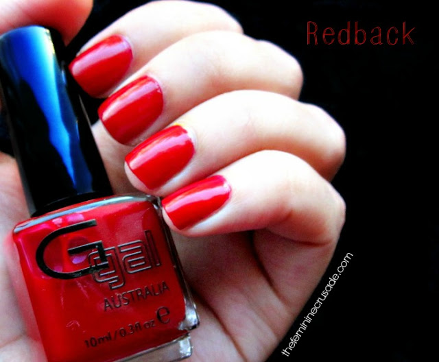 Glitter Gal Redback - swatch