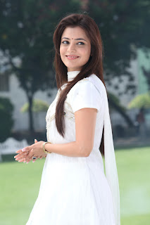 Nisha Agarwal Latest Pictures Gallery in White Sal Kameez 0003.jpg
