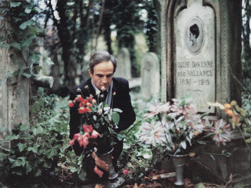 Chambre Bebe Vert Bleu Gris : François Truffaut Truffaut in La Chambre verte
