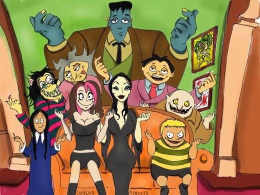 The Addams family por Punky88