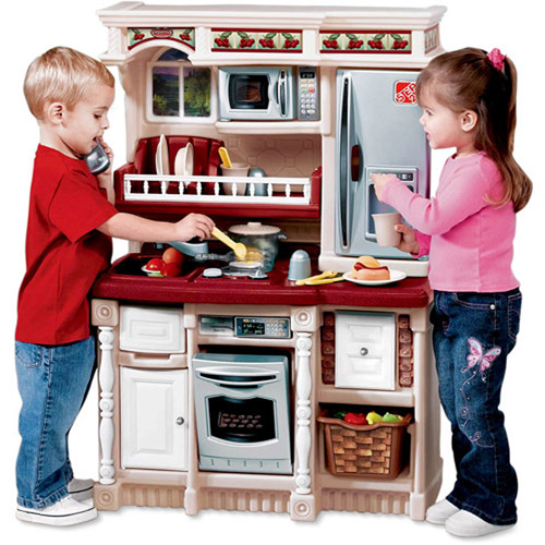 Step 2 Lifestyle Kitchen our holiday gift guide~ step2 custom kitchen - thrifty nifty mommy