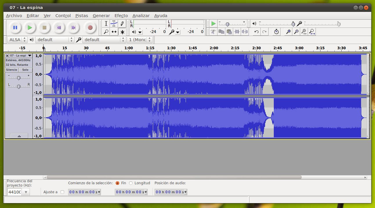 how to order audio in audacity