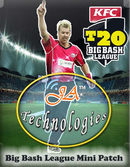 KFC Big Bash League (BBL) Cricket Patch 2012. enrique iglesias i like it 3g