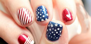 Nail Art Flags