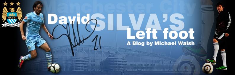 David Silva's Left Foot