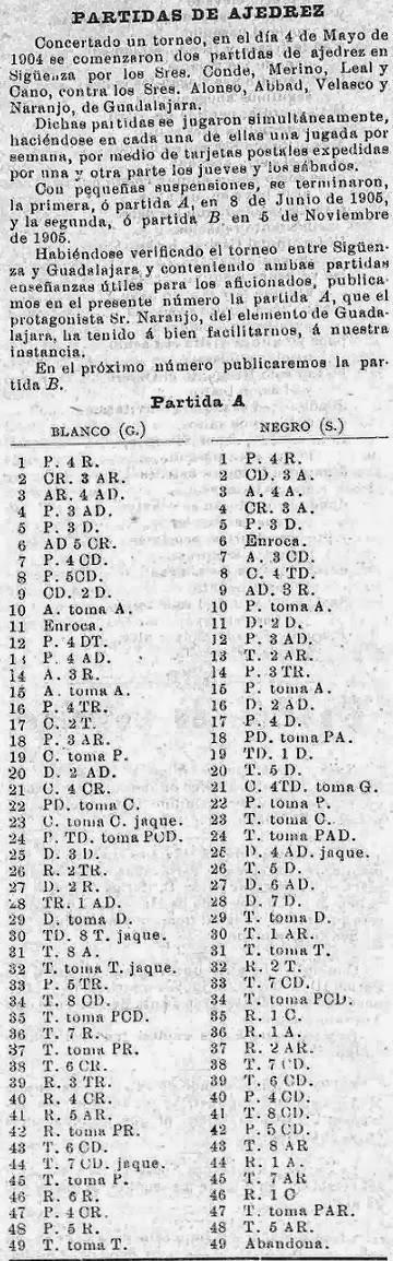 Recorte de la revista Flores y Abejas del 19/1/1906