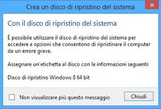 ripristino windows 8