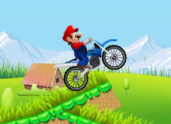 Motorcu Süper Mario