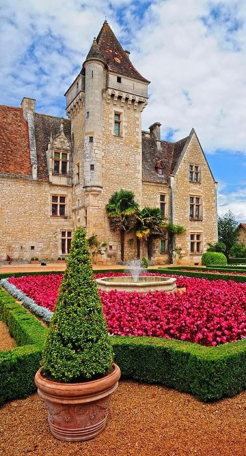Chateau des Milandes, France.